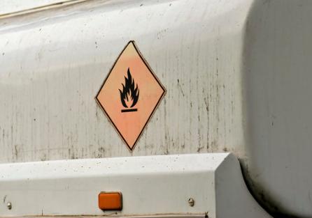 onsite fuel tank