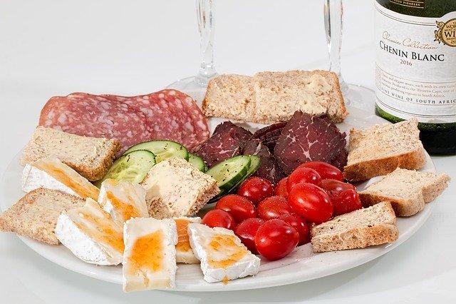 food platter protein